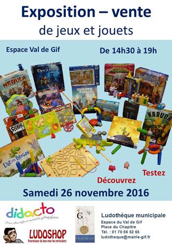 Exposition - Vente de jeux et jouets