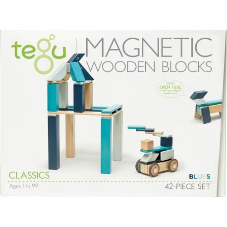 Tegu Classic Pocket 42 Pièces - Blues