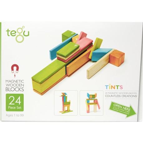 Tegu Classic Pocket 24 Pièces - Tints