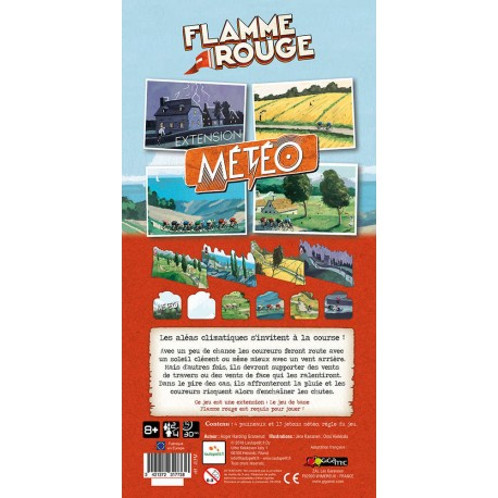 Flamme Rouge - Extension Météo