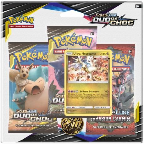 Pack Pokémon Soleil et Lune 9 - Duo de Choc - Ultra-Necrozma