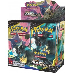 Display de 36 Boosters Pokémon Soleil et Lune 9 - Duo de Choc
