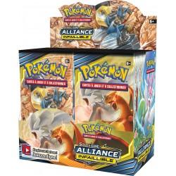 Display de 36 Boosters Pokémon Soleil et Lune 10 - Alliance Infaillible
