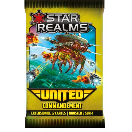 Star Realms - Booster United VF - Commandement