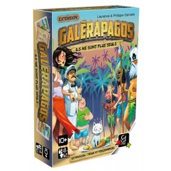 Galerapagos - Tribu et Personnages - Extension