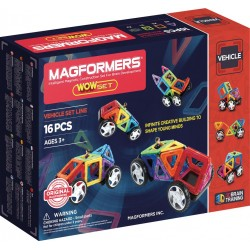 Magformers - WOW Set 16 pièces