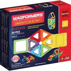 Magformers - Basic Plus Set 20 pièces