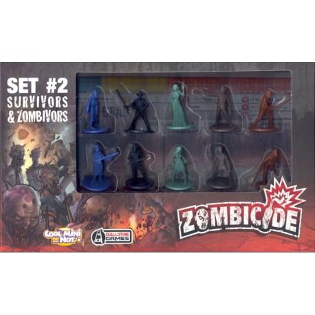 Zombicide - Set 2 - Survivors & Zombivors