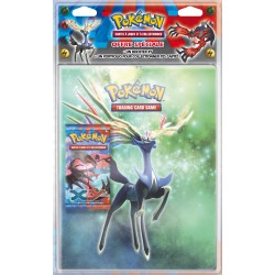 Pack Pokémon XY - Cahier range-cartes + Booster