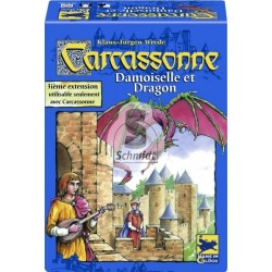 Carcassonne - Princesse et Dragon