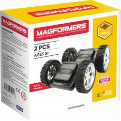 Magformers : Click Wheels Set 2 pièces