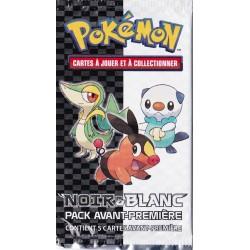 Booster Pokemon - Pack Avant-Première Noir et Blanc - VF