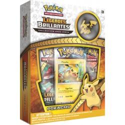 Coffret Pokémon Pins SL 3.5 Légendes Brillantes - Pikachu VF