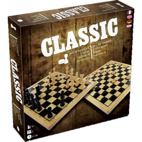 Jeux classiques : Echecs et Dames