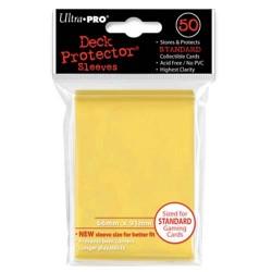 Protège cartes - Jaune - 66 x 91 mm