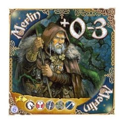 Les Chevaliers de la tables ronde - Jeux de Cartes - Carte Merlin