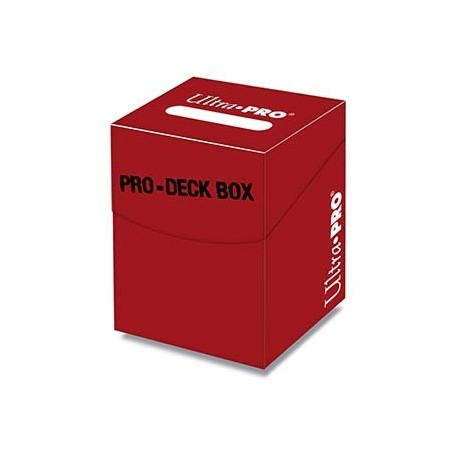 Boite de rangement - Pro Deck Box - Rouge