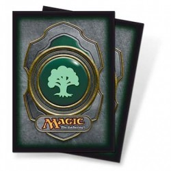 Protège-cartes Magic - Mana v3 - Mana Verte - Green Standard Deck Protectors