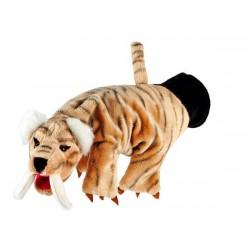 Tigre à dents de sabre - Gant marionnette