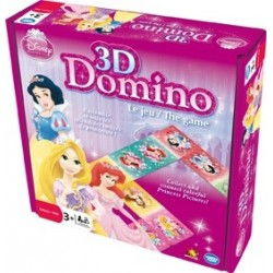 3D Domino Princesses Disney
