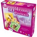 3D Memo Portrait Princesses Disney