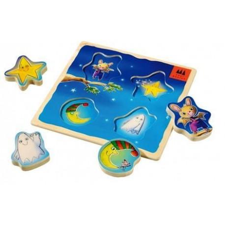 Puzzle encastrement - Ciel étoilé