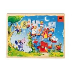 Puzzle encastrement - Manoir Hanté