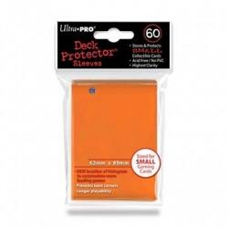 Protège cartes - Orange - 62 x 89 mm