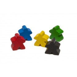 Pion Rouge - Meeple Rouge