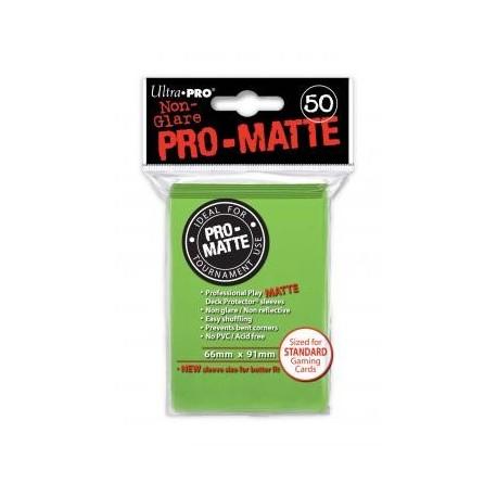 Protège cartes - Vert clair - 66 x 91 mm