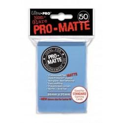 Protège cartes - Bleu clair - 66 x 91 mm
