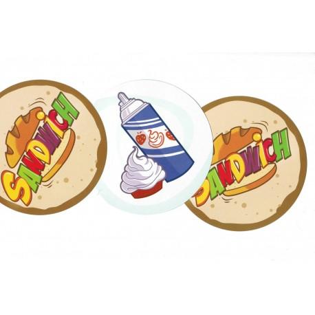 Sandwich - Carte crème fraîche