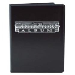 Cahier range-cartes noir - Portfolio A4 - Noir