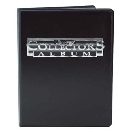 Cahier range-cartes noir - Portfolio A5 - Noir