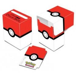 Boite de rangement Pokemon - Deckbox Pokeball