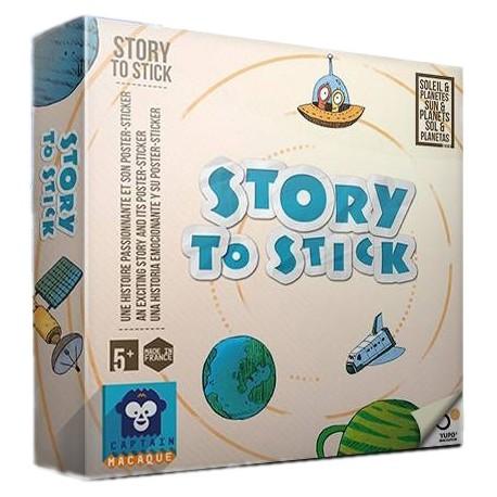 Story to Stick - Soleil et Planètes