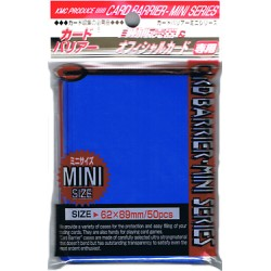 Protège Cartes - Mini - Super Blue Sleeves - 62 x 89