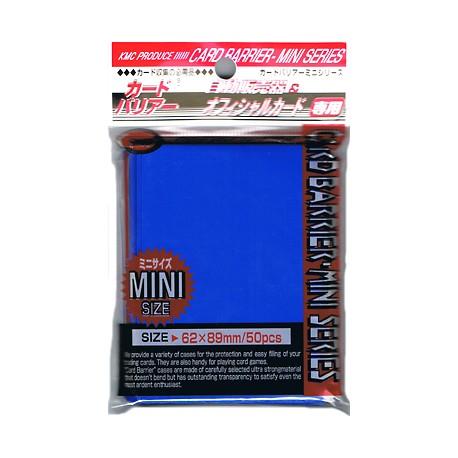 Protège Cartes - Mini - Super Blue Sleeves - 62 x 89