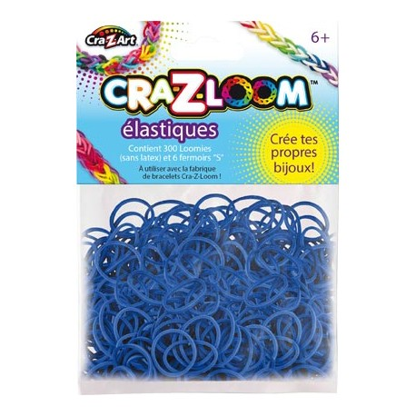 Kit de recharge 200 élastiques Bleu Foncé