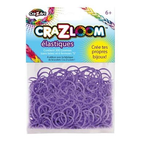 Kit de recharge 200 élastiques violet