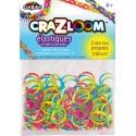 Kit de recharge 200 élastiques - Multicolores