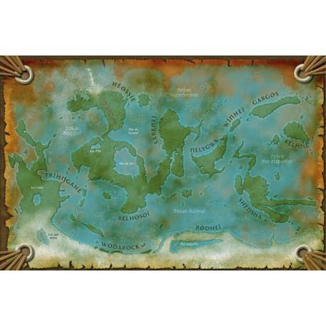 Shaan Renaissance - Cartes d'Héos et de l'Héossie