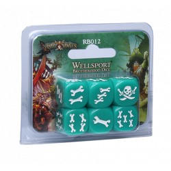 Rum & Bones - Set de dés Wellsport Brotherhood