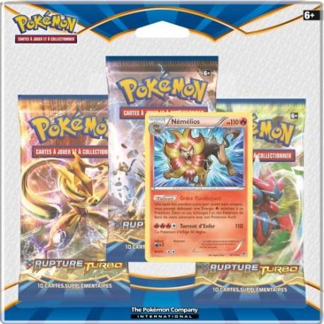 Pack Pokemon XY - Rupture Turbo - Némélios