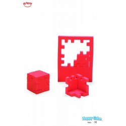Happy Cube - Rouge - Niveau 5