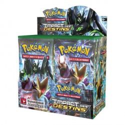 Display de 36 Booster Pokémon XY Impact des Destins