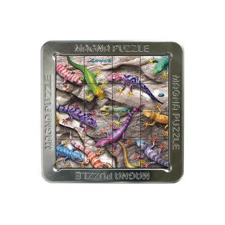 Mini puzzle 3D série 2 : Lézards