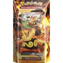 Starter Pokemon - Noir & Blanc - Furie Rouge