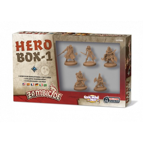Zombicide Black Plague : Heros Box 1