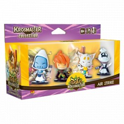 Krosmaster Arena - Pack de 4 figurines Saison 1 - Air Strike